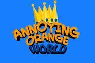 Annoying orange world logo
