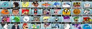 Super Smash Bros Clawl Character Select