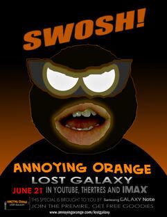 Annoying orange lost galaxy poster 5