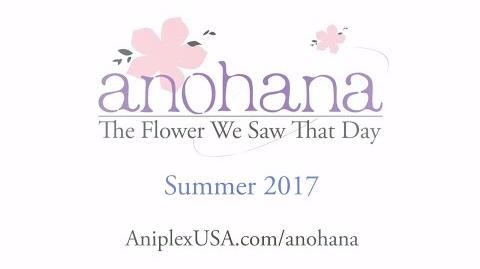 Anohana - The Flower We Saw That Day English Version Teaser