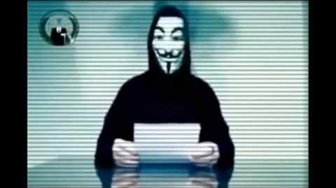 Anonymous Message to the BBC-1