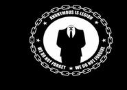 Anonymous logo in Black