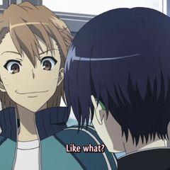 Naoya with Tomohiko.