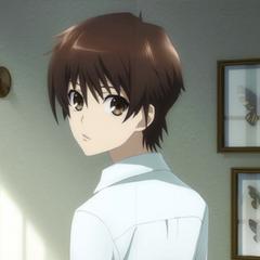 Kouichi's appearance in anime ending.