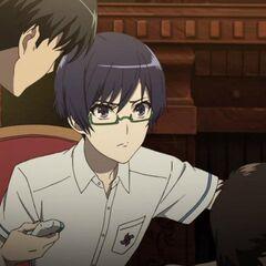 Tomohiko checks on Daisuke.