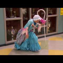 Fletcher Dressed as Little Bow Peep 2