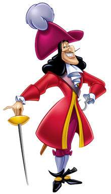 Captain Hook Transparent