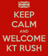 Keep Calm KT Rush