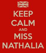 Keep Calm Nathalia