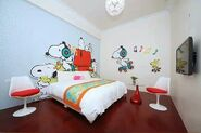Snoopy-Themed Bedroom