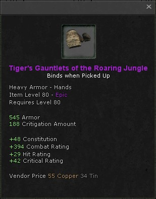 Tigers gauntlets of the roaring jungle