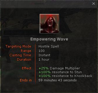Empowering wave