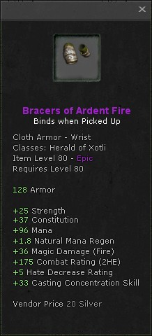 Bracers of ardent fire