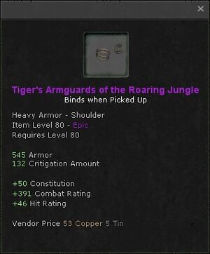 Tigers armguards of the roaring jungle
