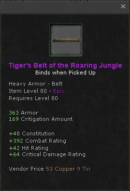 Tigers belt of the roaring jungle