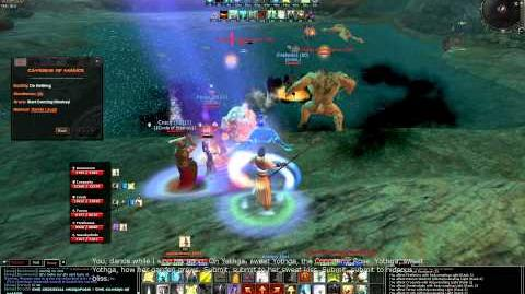 Age of Conan Cavern of Malice Hard Mode Instance audio comments