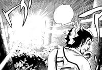Ryuji blinded by blue light