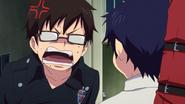 Yukio telling Rin to go home