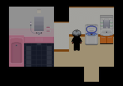 The wash room