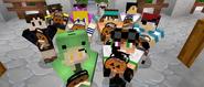 Minecraft Side Stories - Happy Halloween! Screenshot