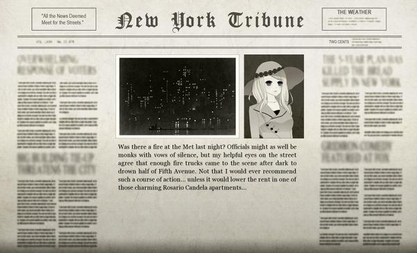 The Serpent Empire Adventure 2 Newspaper