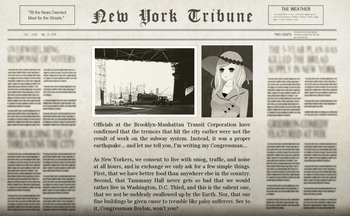 The Serpent Empire Adventure Newspaper