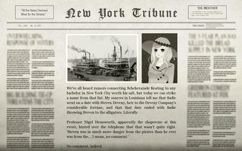 The Albino Alligator Adventure Newspaper
