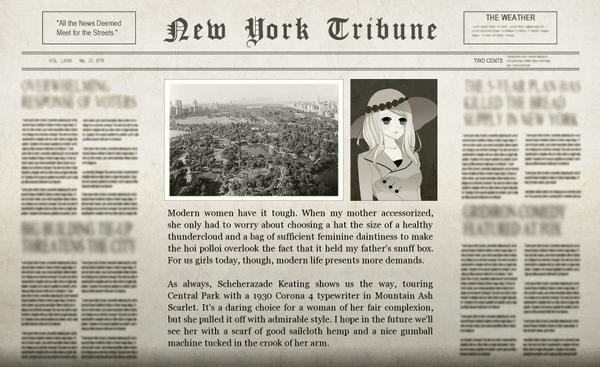 The Bigglesworth Adventure Newspaper
