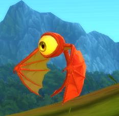 Red Flying Eye