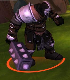 Tovus the Bladedog