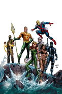 Aquaman and the Others Vol 1-11 Cover-1 Teaser