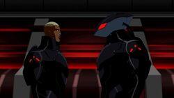 Kaldur'ahm and Black Manta YJ