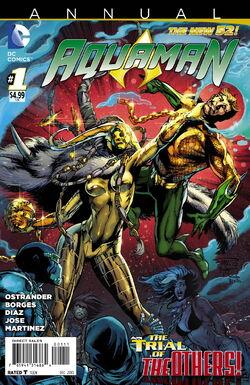 Aquaman Vol 7 Annual-1 Cover-1