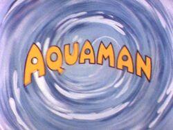 Aquaman animated title