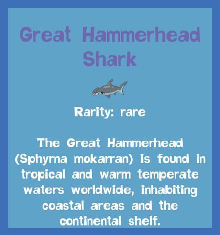 File:Fish2 Great Hammerhead Shark.png