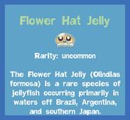 Fish2 Flower Hat Jelly