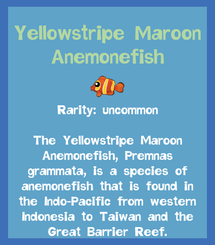File:Fish2 Yellowstripe Maroon Anemonefish.png
