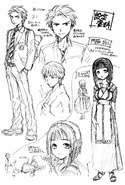 Kadowaki & Miyabi Sketch Concept