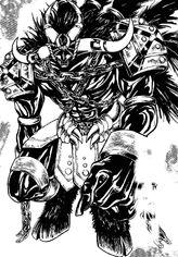 Ameeno demon form