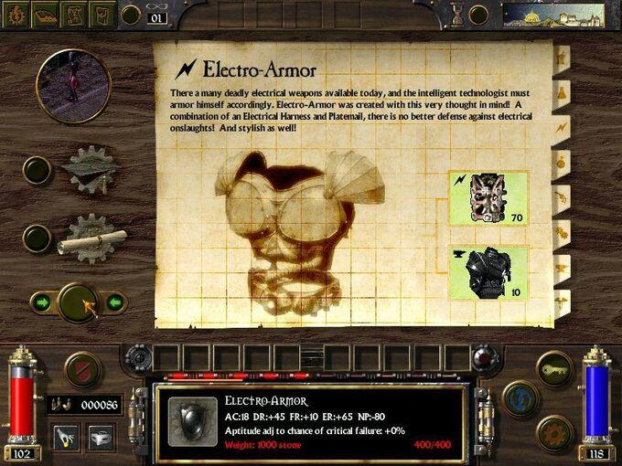 Electro Armor