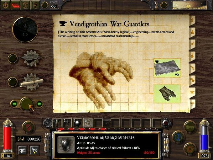 Vendigrothian War Gauntlets