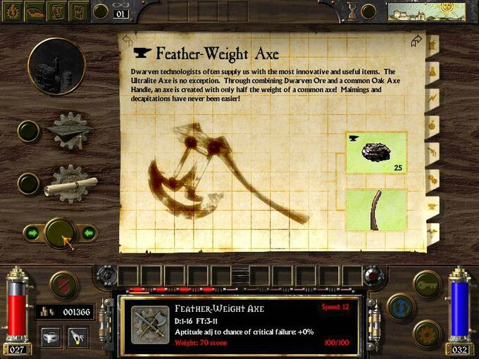 Feather Weight Axe-0