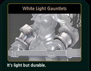 WhiteLightGauntlets