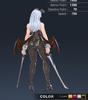 Premium Ridika 3D In-Game Model Back Colour 4