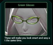 Renoah Green Glasses