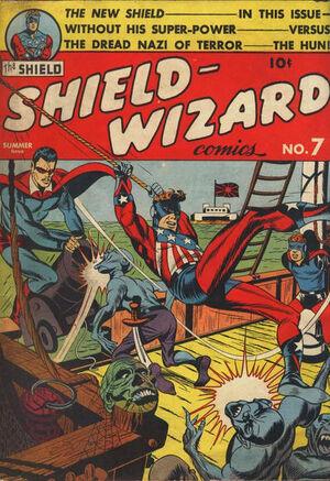 Shield-Wizard Comics Vol 1 7