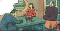 Chess Pieces (Earth-MLJ) of Pep Comics Vol 1 8 0001