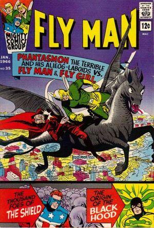Fly Man Vol 1 35