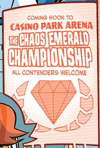 Chaos Emerald Championship Ad