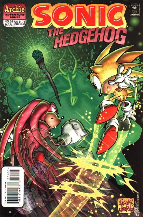 archie sonic the hedgehog issue 56